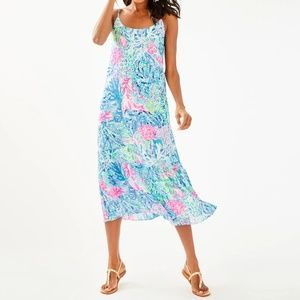 Lilly Pulitzer Winni Maxi Dress NWOT